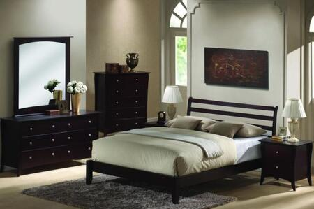 Donco BB0013F  Full Size Platform Bed