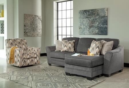 Milo Italia MI5955SFCACCHAR Angelo Living Room Sets