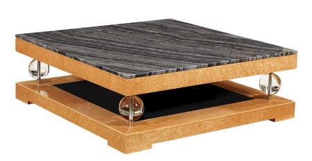 VIG Furniture VGWCTEM8CF012 Veneer Contemporary Table
