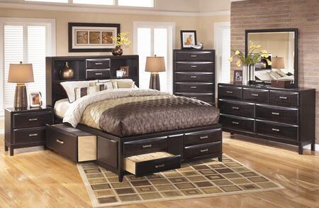 Milo Italia BR561KSBDMN Montgomery King Bedroom Sets