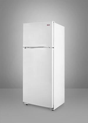 Summit FF882  Counter Depth Refrigerator with 8.8 cu. ft. Capacity in White