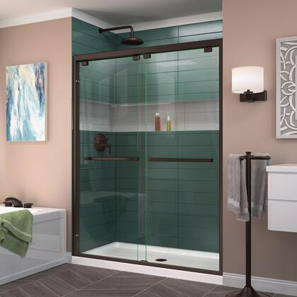 Encore Shower Door RS50 06 B CenterDrain