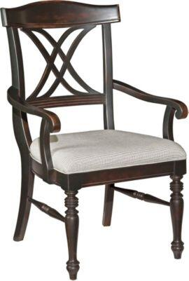 Broyhill 4026580 Mirren Pointe Series Transitional Fabric Wood Frame Dining Room Chair |Appliances Connection