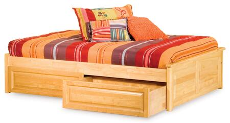 Atlantic Furniture CONRPFAWQN  Queen Size Bed