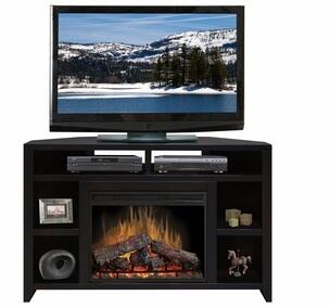 Legends Furniture UL5102MOC Urban Loft Series  Fireplace