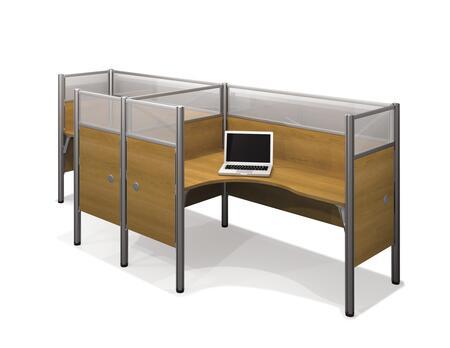 Bestar Furniture 100856D Pro-Biz Double side-by-side L-desk workstation