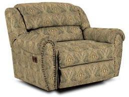 Lane Furniture 21414467632 Summerlin Series Transitional Fabric Wood Frame  Recliners