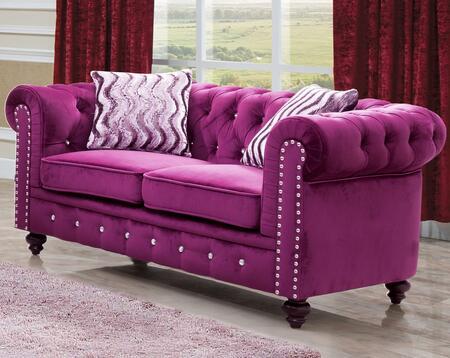 Phenomenal Cosmos Furniture Camila Collection Camila Purple Velvet Set Bralicious Painted Fabric Chair Ideas Braliciousco