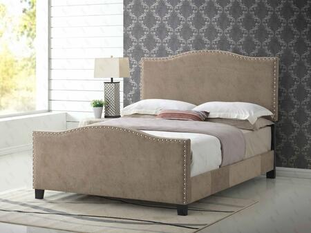 Glory Furniture G2571FBUP G2570 Series  Full Size Panel Bed