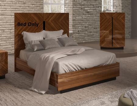 ESF Flavia Collection Panel Bed with Wooden Slats Frame Included