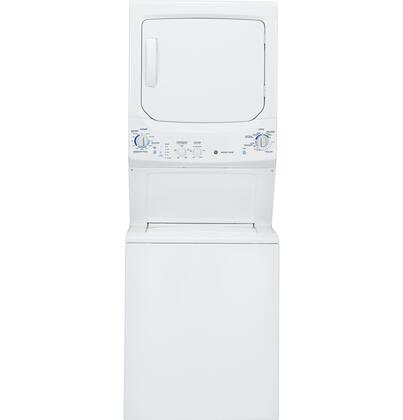 """GE GTUP270EMWW 26.8"""" Electric Laundry Center"""