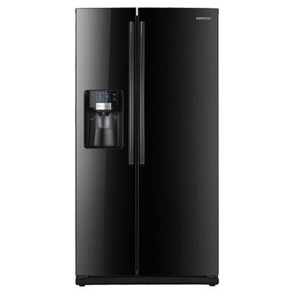 Samsung Appliance RS265TDBP Freestanding Side by Side Refrigerator