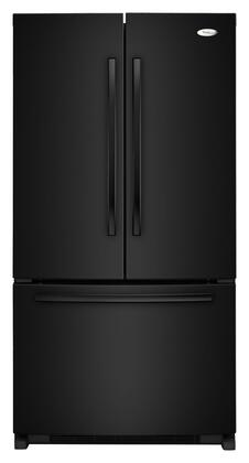 Whirlpool GX5FHTXVB  French Door Refrigerator with 24.8 cu. ft. Total Capacity 4 Glass Shelves