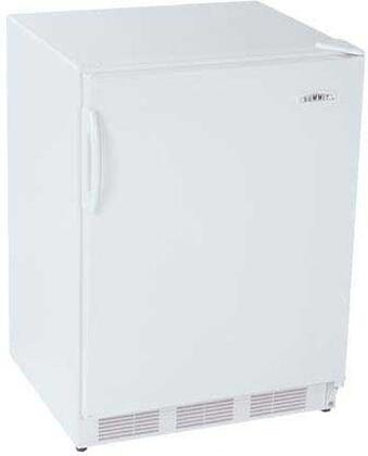 Summit SCFF55ACKEYPAD  Counter Depth Freezer with 5 cu. ft. Capacity in White