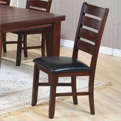 Coaster 101882 Imperial Series Casual Fabric Wood Frame Dining Room Chair