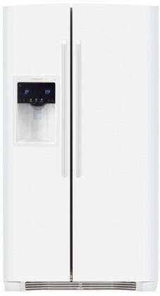 Electrolux EW26SS70IW  Side by Side Refrigerator with 25.93 cu. ft. Capacity in White