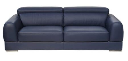 Diamond Sofa chicagoloveng Chicago Series  with Bonded Leather Frame Loveseat