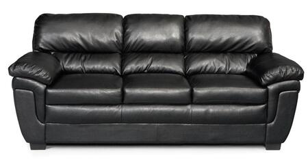 Coaster 502951 Fenmore Series Stationary Faux Leather Sofa