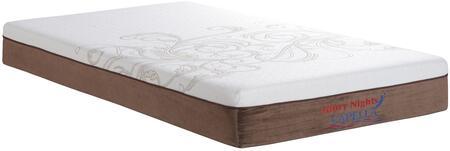 Glory Furniture GN3340Q Capella Series Queen Size Memory Foam Top Mattress