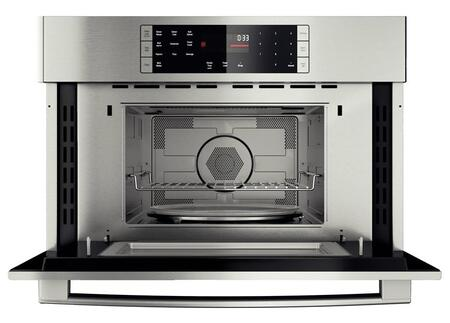 Bosch Benchmark Hmc80251uc Microwave Oven In Stainless