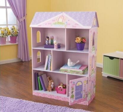 KidKraft 14602 Wood 3 Shelves Bookcase