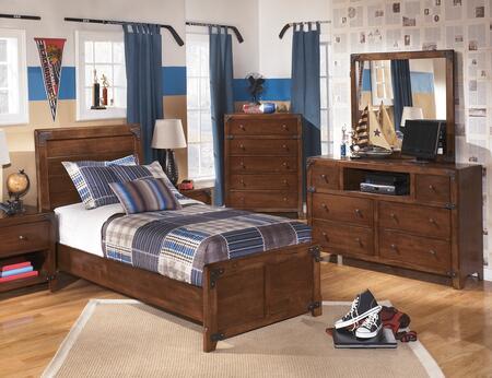 Milo Italia BR528TPBDMC Stuart Twin Bedroom Sets