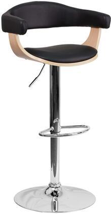 Flash Furniture SD21782GG Residential Vinyl Upholstered Bar Stool
