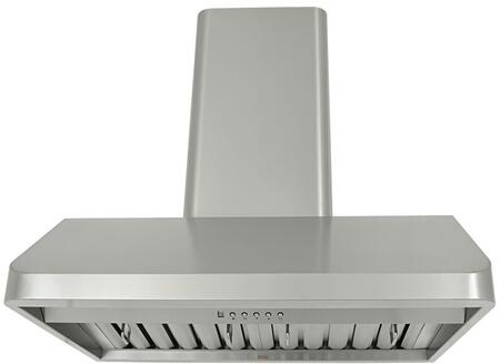 Kobe CH91 Wall Mount Range Hood With 760 CFM, 6 Speeds, Electronic button control, ECO Mode, Delay shutoff, LED lights, Dishwasher safe professional baffle filters and QuietMode in Stainless Steel