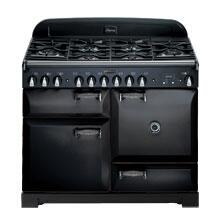 AGA ALEG36ECDBLK Legacy Series Electric Freestanding Range with Smoothtop Cooktop, 1.8 cu. ft. Primary Oven Capacity, in Black
