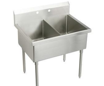 Elkay WNSF82482 Kitchen or Bar Sink