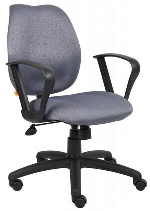 """Boss B1015GY 26"""" Adjustable Contemporary Office Chair"""