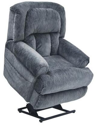 Catnapper 4847176323 Burns Series Transitional Velvet Metal Frame  Recliners