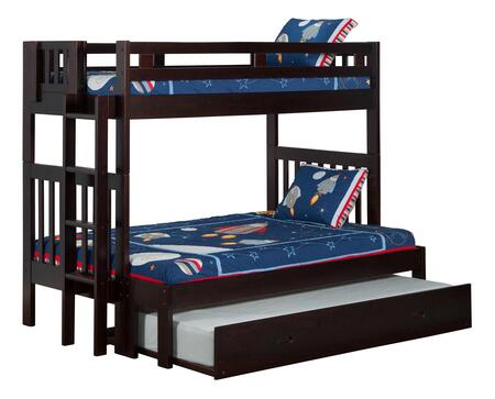 Atlantic Furniture AB63231  Twin over Full Size Bunk Bed