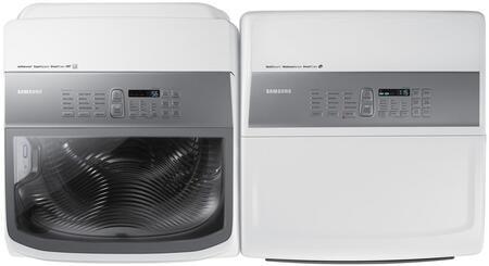 Samsung Dv45k7600ew 27 Inch 7 4 Cu Ft Electric Dryer In