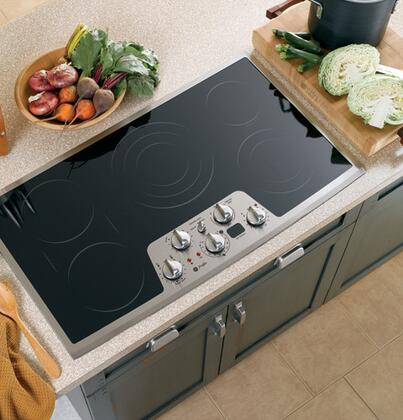GE Profile PP962SMSS  Electric Cooktop