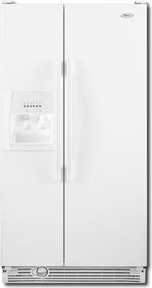 Whirlpool ED2DHEXWQ  Side by Side Refrigerator with 21.7 cu. ft. Capacity in White