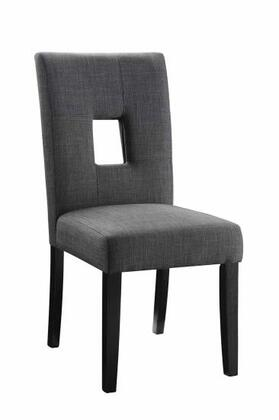 Coaster 106656 Andenne Series Contemporary Fabric Wood Frame Dining Room Chair