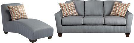Milo Italia MI2785SCLLAGO Victoria Living Room Sets