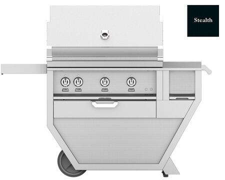 54 in. Deluxe Grill with Worktop   Stealth