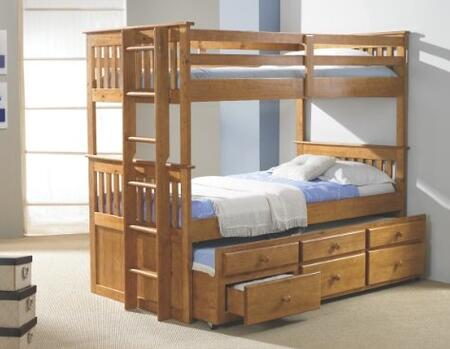 Donco 133H  Twin Size Bunk Bed
