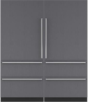 Sub-Zero 710452 Side-By-Side Refrigerators