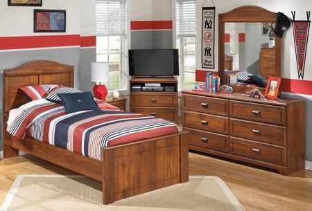 Milo Italia BR355TPBDM Vasquez Twin Bedroom Sets