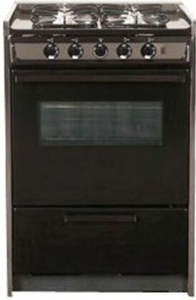 "Summit TNM114RW 20"" Professional Series Slide-in Gas Range with Sealed Burner Cooktop Broiler 2.46 cu. ft. Primary Oven Capacity 