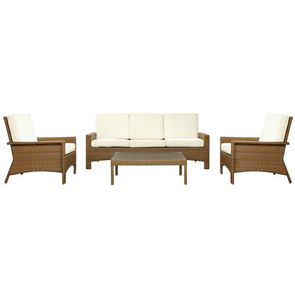 Modway EEI971OATWHISET Modern Rectangular Shape Patio Sets