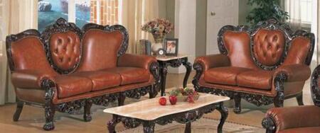 J. Horn 701BROWN2SET Living Room Sets