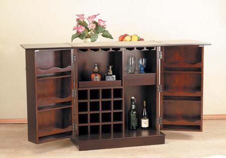 "Acme Furniture 07200 Ivan Series 21"" Mini Bar,  