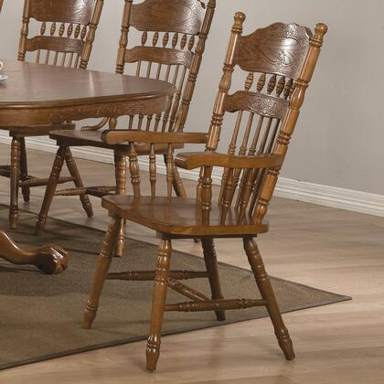 Coaster 104273 Brooks Series Traditional Not Upholstered Wood Frame Dining Room Chair