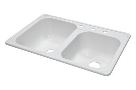 Lyons DKS01ZTB Kitchen Sink