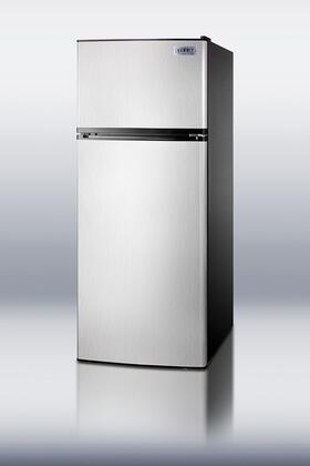 Summit FF1152SSIM  Counter Depth Refrigerator with 10.4 cu. ft. Capacity in Stainless Steel