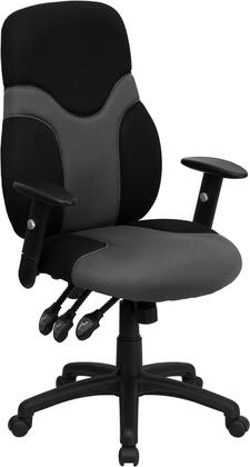 "Flash Furniture BT6001GYBKGG 27"" Contemporary Office Chair"